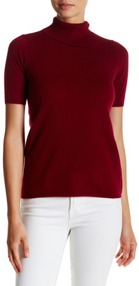 In Cashmere Cashmere Turtleneck Tee $298 thestylecure.com