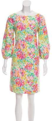 Lilly Pulitzer Floral Print Mini Dress