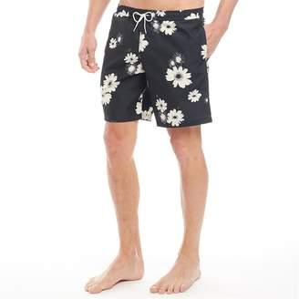 3b9517dcfc Farah Mens Doylan Floral Swim Shorts True Navy