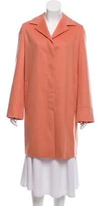Agnona Notch-Lapel Knee-Length Coat