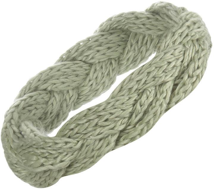 Knitted Wool Plait Headband