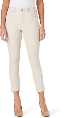 Bandolino Women's Mandie Slip Crop Jeans