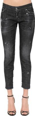 DSQUARED2 Jennifer Black Wash Cotton Denim Jeans