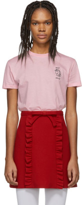 Miu Miu Pink Unicorn T-Shirt