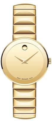 Movado Sapphire Bracelet Watch, 26mm