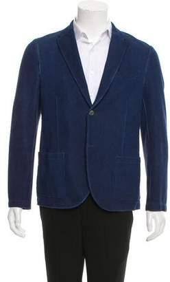 Harris Wharf London Woven Two-Button Blazer