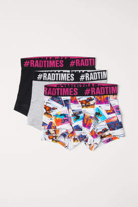 H&M 3-pack Boxer Shorts - Pink