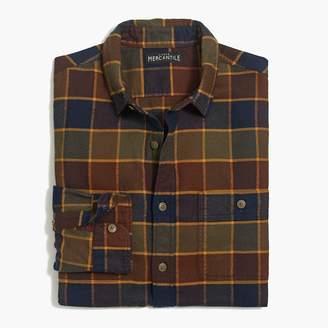 J.Crew Slim tall flannel shirt in tattersall