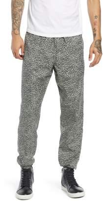 Obey Easy Pant II Leopard Print Jogger Pants