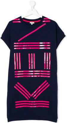 Kenzo logo sweat dress