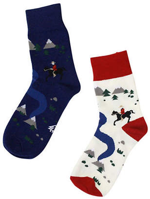 DRAKE GENERAL STORE Mountie Socks Ladies
