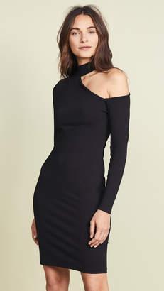Susana Monaco Open Shoulder Long Sleeve Dress
