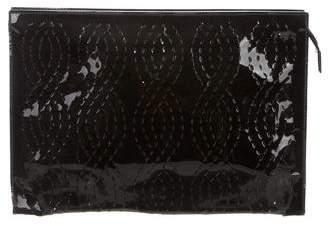 Fendi Patent Leather Pouch