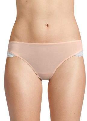 Hanro Lace-Trimmed Bikini Panty