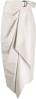 Isabel Marant asymmetric wrap skirt