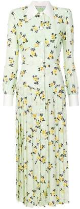 Alessandra Rich floral print dress