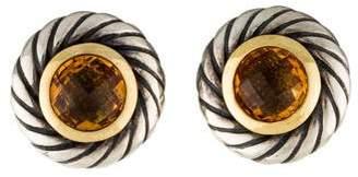David Yurman Citrine Color Classics Earrings