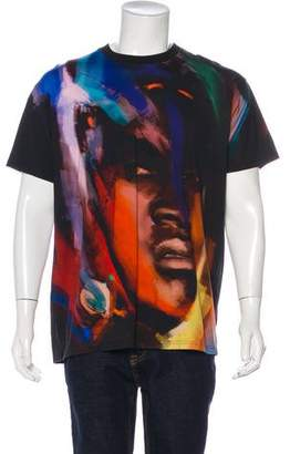 Givenchy African Face Print T-Shirt
