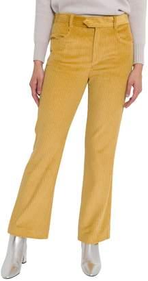 Isabel Marant Ribbed Velvet Trousers