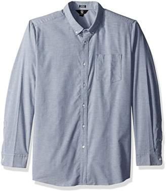 Volcom Men's Oxford Modern Fit Long Sleeve Woven Shirt