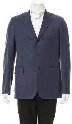 Louis Vuitton Wool Three-Button Blazer