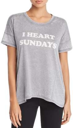 PJ Salvage I-Heart Sundays Tee