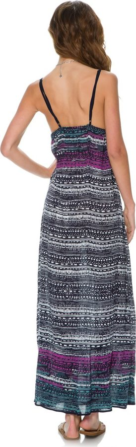Angie Krisily Printed Maxi Dress