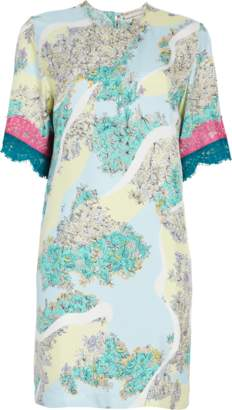 Emilio Pucci Floridiana Printed Shift Dress