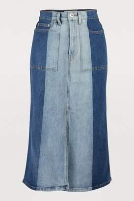 e3c8d0d2d9 Proenza Schouler Pswl Denim maxi skirt