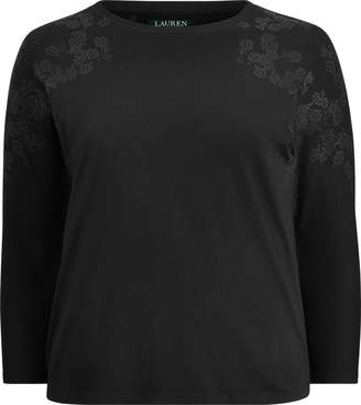 Ralph Lauren Dolman-Sleeve Top
