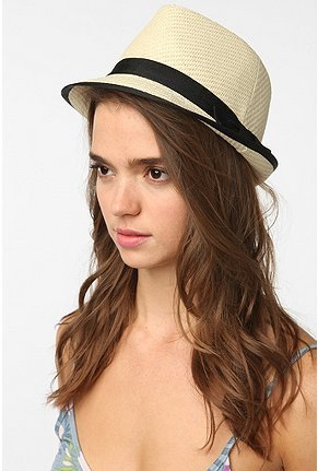 Pins and Needles Straw Fedora