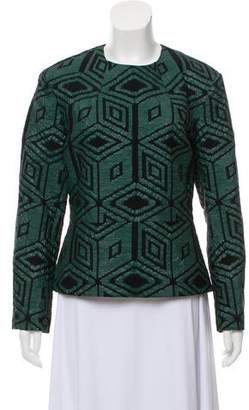 Dries Van Noten Patterned Long Sleeve Top
