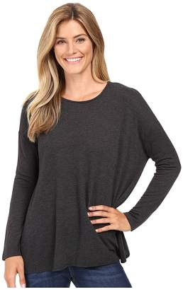 KUT from the Kloth Nikki Draped Top Women's Long Sleeve Pullover