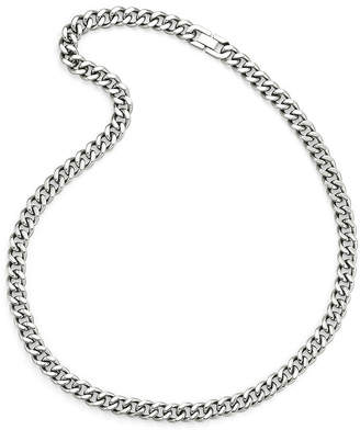 FINE JEWELRY Men's 24 Curb Chain Stainless Steel