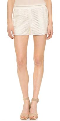 Diane von Furstenberg Belize Shorts $168 thestylecure.com