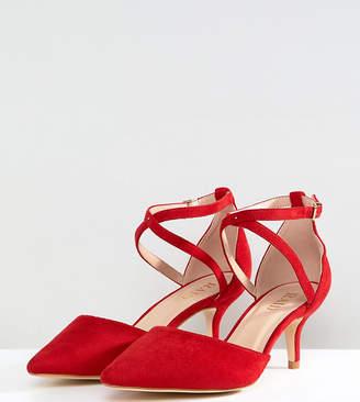 a04d8beddd1 Raid Wide Fit RAID Wide Fit Lyla Kitten Heel Court Shoe