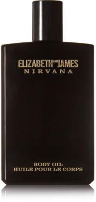 Elizabeth and James Nirvana - Nirvana Black Body Oil - Violet, Sandalwood & Vanilla, 100ml