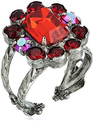 Sorrelli Ruby Bouquet Ring