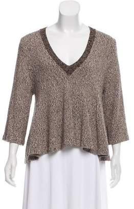 Apiece Apart Knit V-Neck Sweater