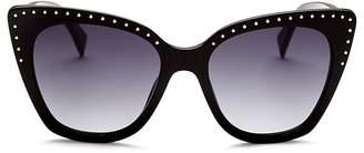 Moschino Women's 005 Cat Eye Sunglasses, 53mm