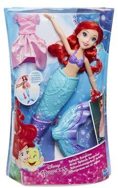 Disney Splash Surprise Ariel Doll