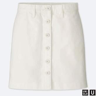 Uniqlo Women's U Cotton Mini Skirt