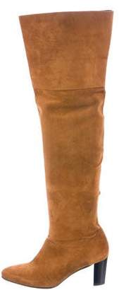 Robert Clergerie Clergerie Paris Suede Over-The-Knee Boots