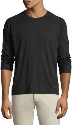 Ermenegildo Zegna Men's Techmerino Jersey Long-Sleeve T-Shirt