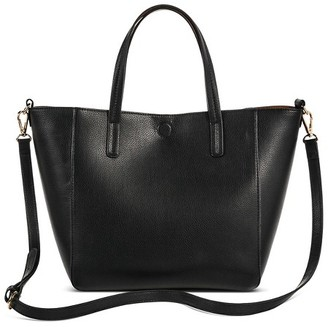 Merona Women's Small Reversible Faux Leather Tote - Merona $29.99 thestylecure.com
