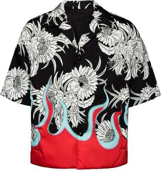 Prada Short-sleeved nylon shirt