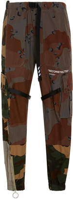 Off-White Printed Camouflage Cargo Pants
