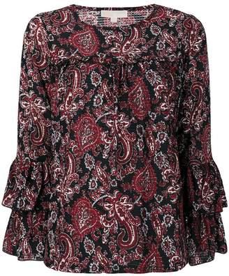MICHAEL Michael Kors paisley print blouse