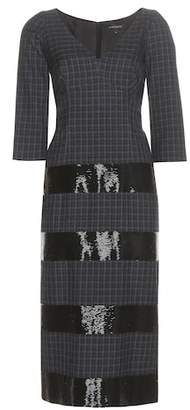 Marc Jacobs Embellished wool dress