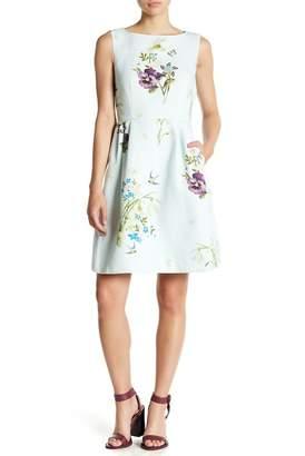 Ted Baker Loolina Floral Fit & Flare Dress